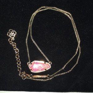 Kendra Scott Cami necklace coral opal